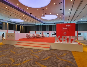 KBiz online exhibition at Sheraton